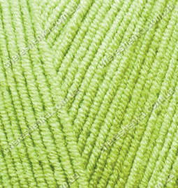 Нитки Alize Cotton Gold 612 кислотный, фото 2