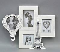 """Фоторамка  """"Париж"""" на 4 фото PR201-1"""