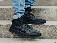 Зимние кроссовки Staff black