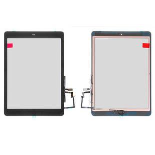 Сенсорный экран для iPad Air (iPad 5), со шлейфом, с кнопкой HOME, черный