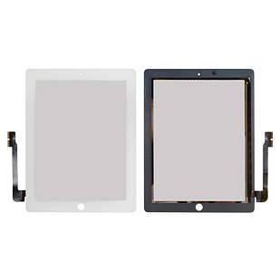 Сенсорный экран для iPad 3, iPad 4, белый