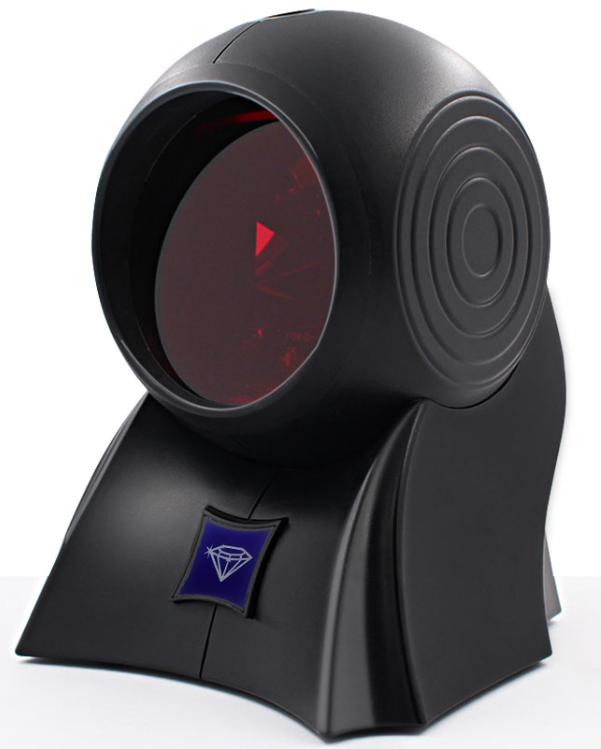 1D лазерний OMNI сканер штрих-коду, дротовий AsianWell AW-3090 чорний (AW-3090)