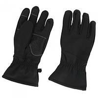 Перчатки SOFTSHELL черные