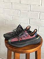 Кроссовки разноцветные мужские Adidas Yeezy Boost 350. Стильные мужские кроссовки Адидас Изи Буст 350