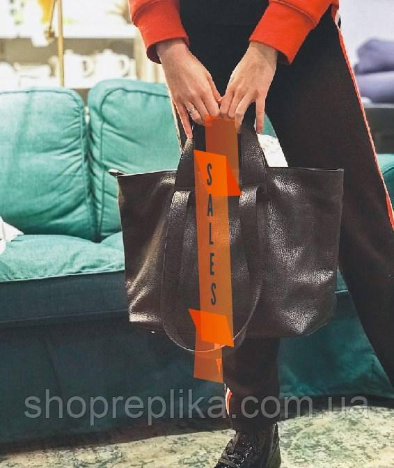 Женские сумки из натуральной кожи шопперы большая кожаная женская сумка шоппер черный  df265fв