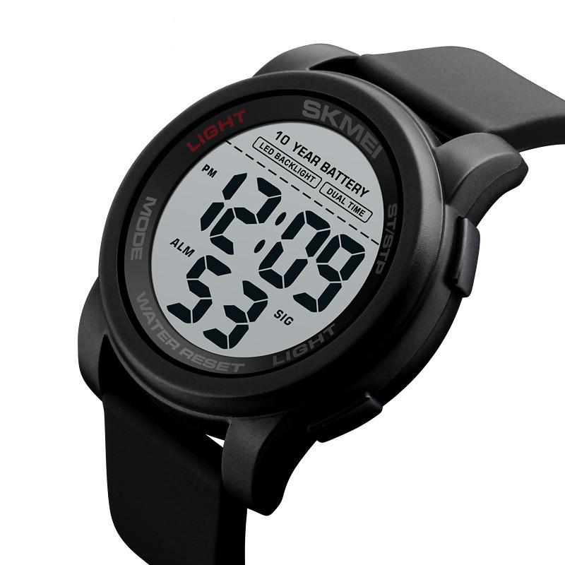 Мужские спортивные часы Skmei 1564 черные
