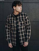 Рубашка Staff brown