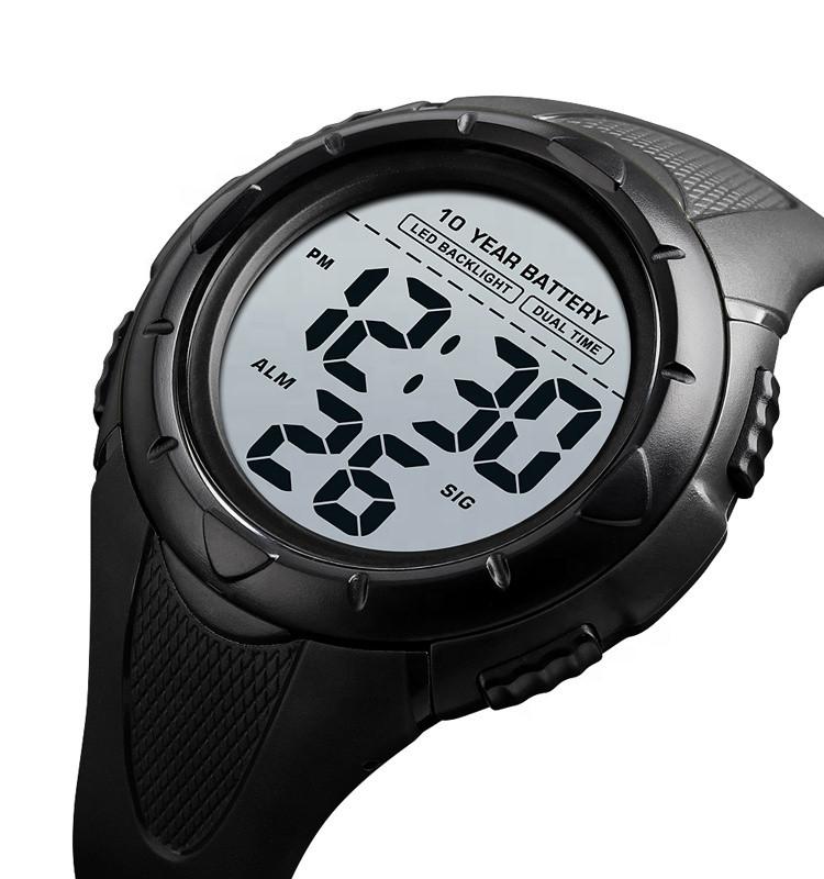 Мужские спортивные часы Skmei 1563  черные