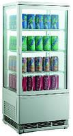 Витрина холодильная EWT INOX RT78L (БН)