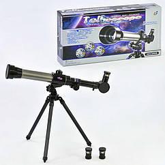 Детский телескоп С 2106 Черный 2-С2106-23841, КОД: 1075718