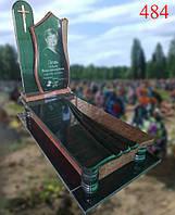 Пам'ятник-тюльпан з точеними балясинами, фото 1