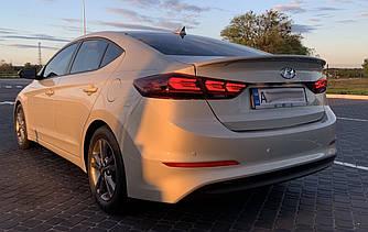 Фонари Hyundai Elantra AD (16-20) тюнинг Led оптика