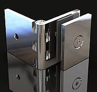 Крепление для стекла Регулируемое Стена-стекло  180°, фото 1