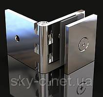 Крепление для стекла Регулируемое Стена-стекло  180°