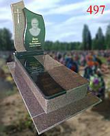 Памятник из жадковського гранита и базальта, фото 1