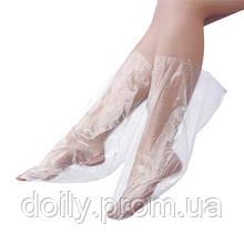Пакеты для парафинотерапии ног Doily 30х50см, (100 шт\пач)