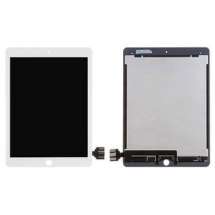 Дисплей для iPad Pro 9.7, белый, с сенсорным экраном, PRC
