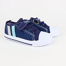 7297E Кеды мокасины на мальчика текстильная обувь Том.м размер 25,26,27,28,29,30, фото 2