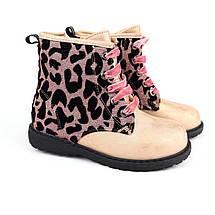 5831A Ботинки демисезонные для девочки леопард тм Том.м размер 25,26,27,28,29,30,31,32, фото 2