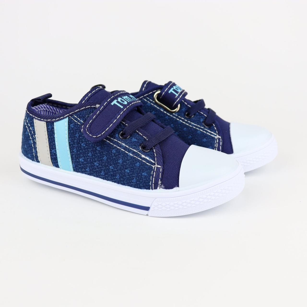 7297E Кеды мокасины на мальчика текстильная обувь Том.м размер 25,26,27,28,29,30