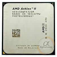 Процессор AMD Athlon II X3 450 (3×3.20GHz/1.5Mb/AM3) БУ