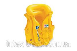 """Детский надувной жилет """"Deluxe Swim Vest"""" Intex 58660"""