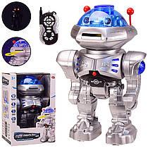 """Робот на радиоуправлении """"Звездный друг"""", космический воинстреляет дисками, звук, свет,9894"""