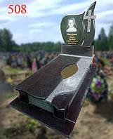 Пам'ятник з покостівського граніту і габро, фото 1