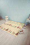Бесплатная доставка! Двухсторонний детский складной коврик  (Дорожки/Поляна) размер 1,8 на 2 м, фото 6
