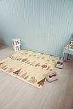 Безкоштовна доставка! Двосторонній дитячий складаний килимок (Доріжки/Поляна) розмір 1,8 на 2 м, фото 6