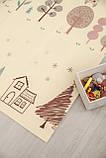 Бесплатная доставка! Двухсторонний детский складной коврик  (Дорожки/Поляна) размер 1,8 на 2 м, фото 8