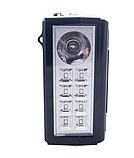 Радиоприёмник MP3 плеер USB microSD  RX-166LED, фото 3