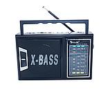 Радиоприёмник MP3 плеер USB microSD  RX-166LED, фото 4