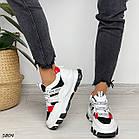 Жіночі білі кросівки, екошкіра, фото 8