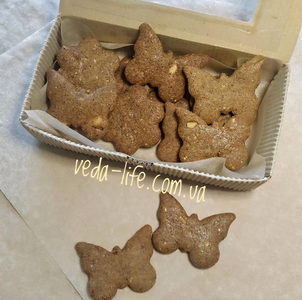 Марципанове печиво із насіння й горіхів. Марципановое печенье, 100 грамм. Суперфуд