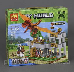 Конструктор Майнкрафт Красный Дракон Lele 33027 Minecraft My World 468 деталей