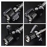 Велосипедный фонарь с зумом NEWBOLER (1800LM, XML T6*3, Micro USB, Zoom, Поворотное крепление), фото 4