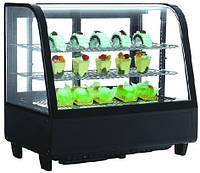 Настольная витрина RTW-100L EWT INOX (холодильная кондитерская)