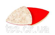Насадка кругла повстяна тонкошерстная на липучці для реноватора 85 мм, 10 шт MASTERTOOL 08-6498
