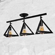 Потолочная люстра на 3 пирамидки