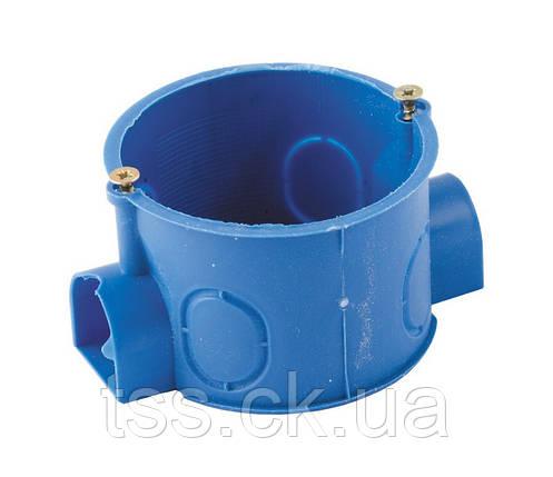 Коробка монтажная Ø 60 для бетона , последовательный  монтаж ГОСПОДАР 94-0201, фото 2