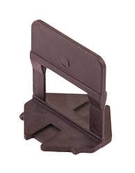Основание MASTERTOOL MAXI система выравнивания плитки 1.5 мм 50 шт 81-0503