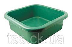 Таз пластиковый квадратный 16 л ГОСПОДАР 92-3037