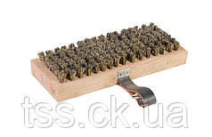 Щетка ножная ГОСПОДАР с ремешком для пола (паркетная) 220х85 мм 14-6480