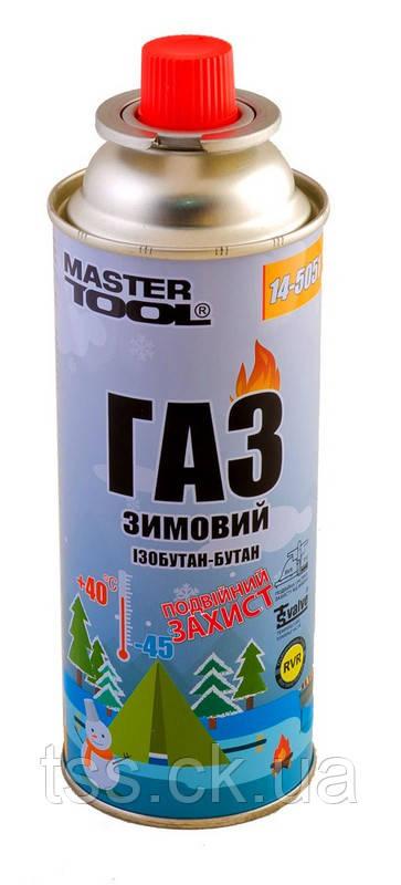 "Газ бутан ""ЗИМОВИЙ"" 220 г MASTERTOOL 14-5051"