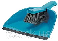Совок і щітка для сміття 330*235*85 мм кольоровий ГОСПОДАР 14-6416