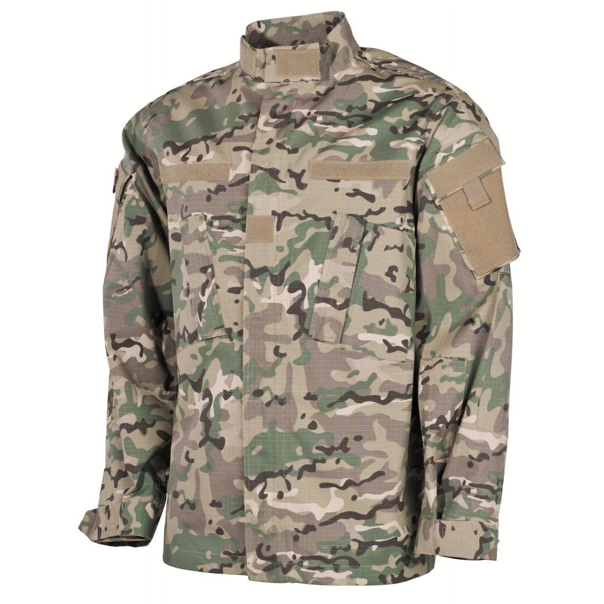 Куртка US Field ACU, Rip Stop, мультикам MFH