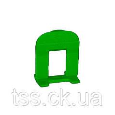Основание MASTERTOOL MINI система выравнивания плитки 1 мм 250 шт 81-0505