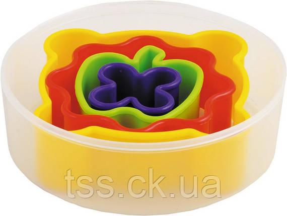 Набір форм для печива 4 шт, пластик ГОСПОДАР 92-1208, фото 2