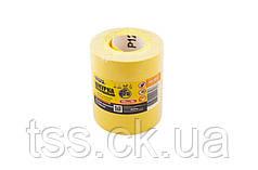 Шкурка шліфувальна на паперовій основі Р120 115 мм*10 м MASTERTOOL 08-2912